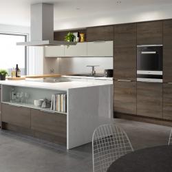 Linear Gladstone Oak & Light Grey -