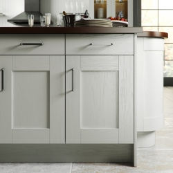 Painted White Timber Shaker